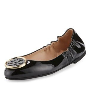 Tory Burch Twiggie Patent Leather Ballet Flats